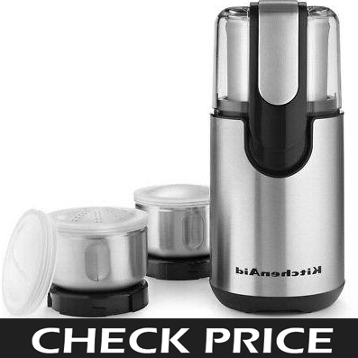 KitchenAid BCG211OB Grinder and Blender
