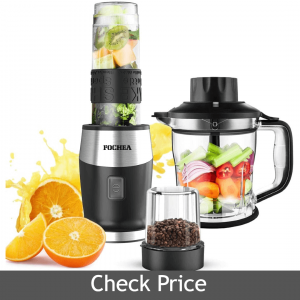 FOCHEA High-Speed Personal Blender for Smoothies and Ice Shakes