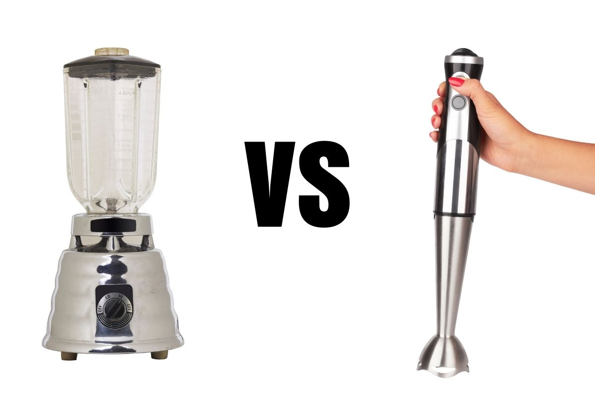 difference between blender and immersion blender