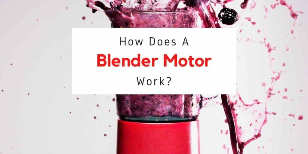 text reading how does a blender motor work