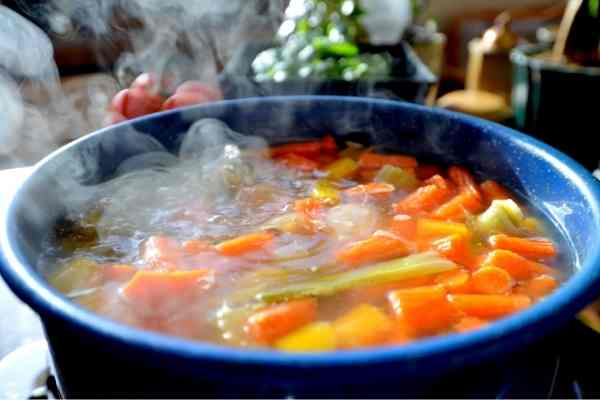 picture of hot soup