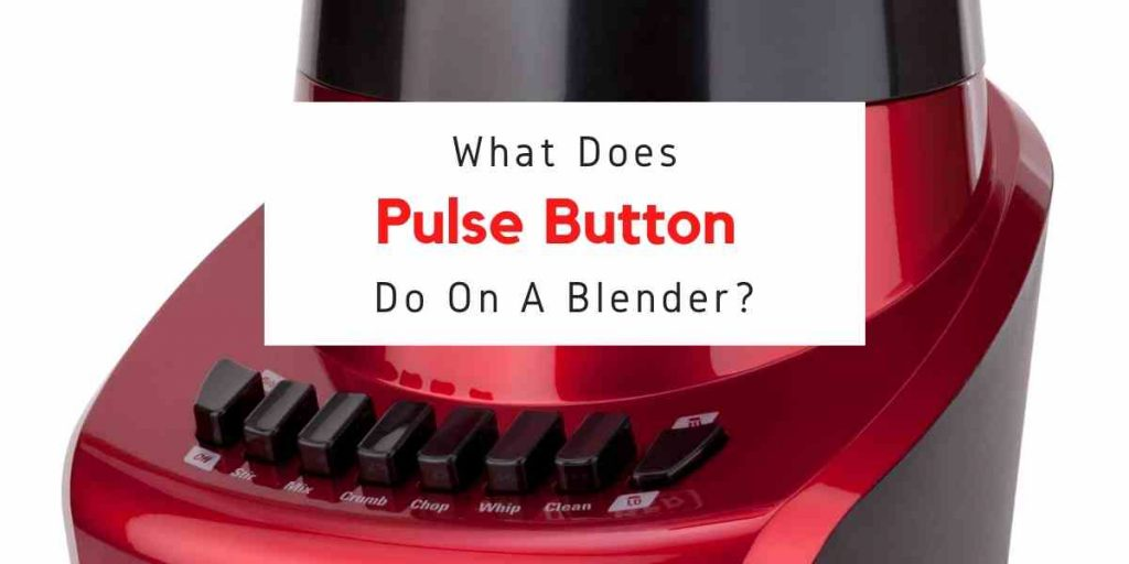text reading what does pulse do on a blender