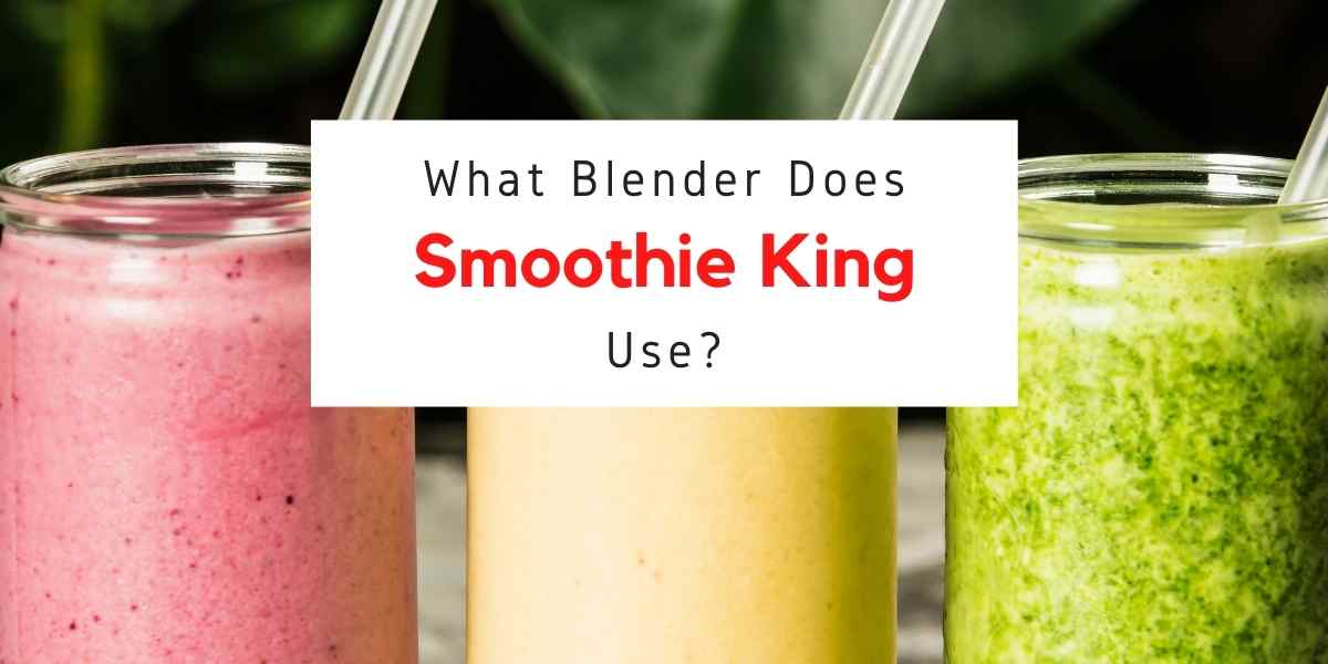 text reading what kind of blender does smoothie king use