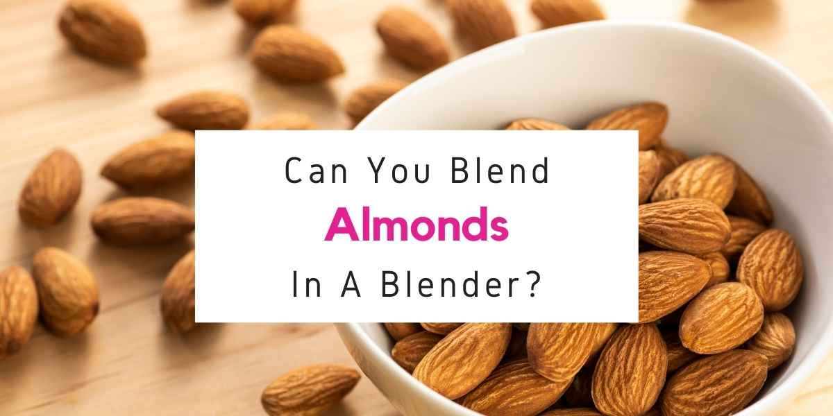 text reading can you blend almonds using a blender